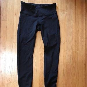 Lululemon black full length leggings